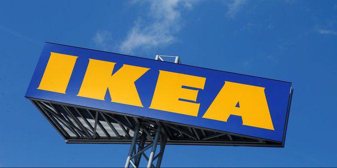 Švedska ikea logo