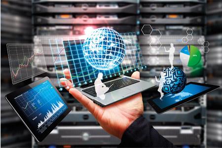 Simboličen prikaz množice podatkov z računalniki