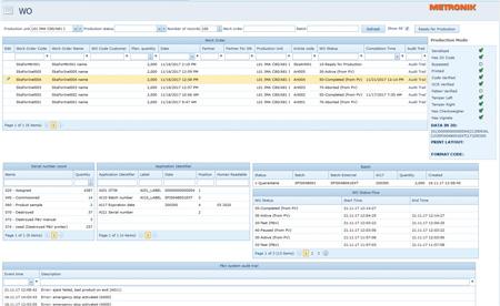 Prikaz računalniškega programa track & trace